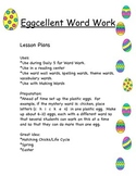 Eggcellent Word Work - Making Words in an Eggciting Way