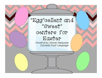 """Egg""cellent and ""Sweet"" Centers and Activities for Easter"