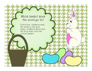 """Egg""cellent and ""Sweet"" Centers for Easter-FREEBIE!"
