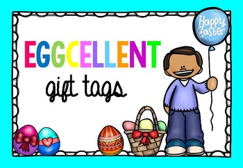 Eggcellent Gift Tag FREEBIE