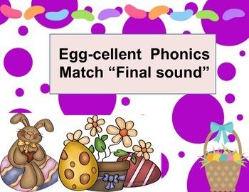 Eggcellent phonics final sounds