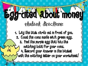 Eggcited About Money