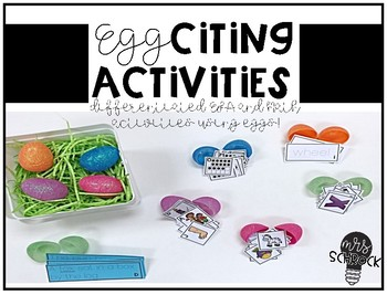 Eggciting Activities