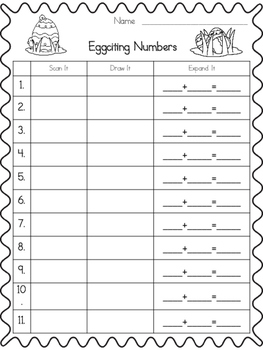 Eggciting Numbers