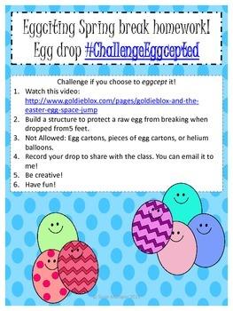 Eggciting Spring break homework