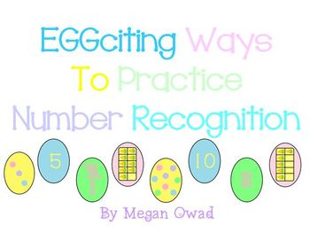 Eggciting Ways to Practice Numbers