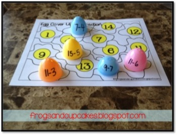 Egged! Math and Literacy Fun