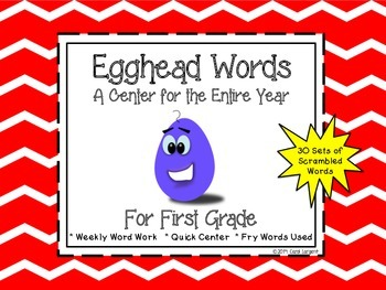 Egghead Words for First Grade