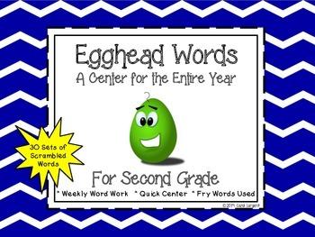 Egghead Words for Second Grade