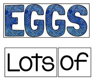 Eggs (A Pocket Chart Activity)