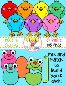 Eggs & Chicks Clipart