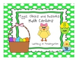 Eggs, Chicks and Baskets Math Centers for Spring