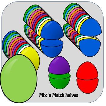 Eggs Clip Art for Teachers