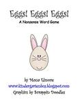 #Dec2019HalfOffSpeech Eggs! Eggs! Eggs! A Nonsense word Game