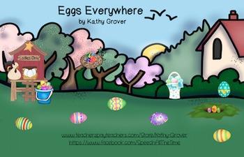 Eggs Everywhere: An Interactive Rhyming Book