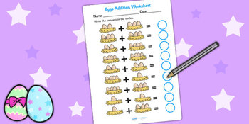 Eggs In Nest Addition Sheet