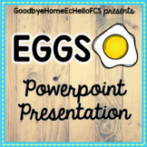 Eggs Powerpoint for FCS Culinary Arts/Foods Course