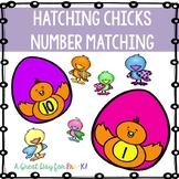 Eggs and Chicks Counting Mats for Preschool, Prek, and Kin