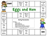 Eggs and Ham -- Ending Punctuation