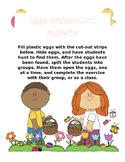 Eggs-ercise Hunt! Easter Activity