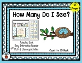 Eggs in a Nest - Count to 10 Adapted Interactive Reader &