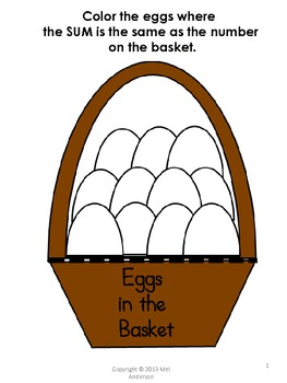 Eggs in the Basket-Math