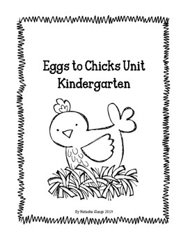 Eggs to Chicks- Kindergarten Chick Hatching Resources