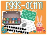 Egg Carton Math Center /Game / Activity - Number & Addition