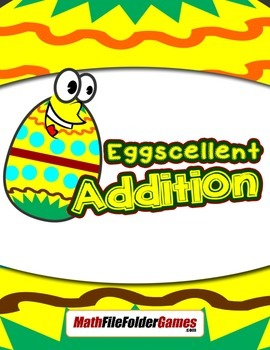 Eggscellent Addition: Basic Addition Facts From 2-12 {Math Game}