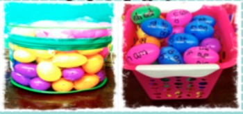 "'Eggscellent"" Easter Word Work Center - Freebie"