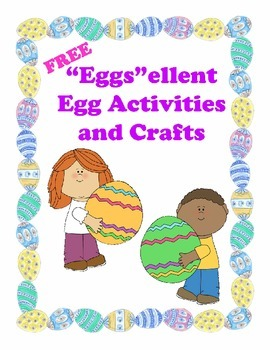 """""""Eggs""""ellent Educational Egg Activities & Crafts (Easter or Anytime)"""
