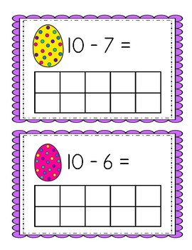 Eggstra Special Subtraction