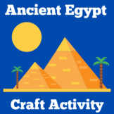 Ancient Egypt Craft Activity