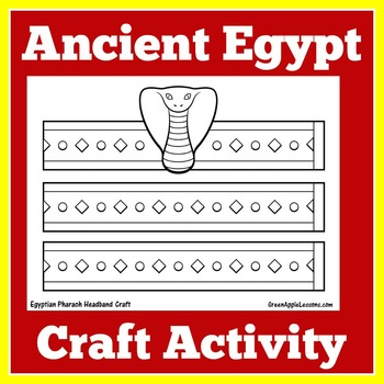Egypt Activity | Egyptian Craft | Ancient Egypt | Egyptian