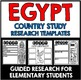Egypt Country Study Research Project Templates