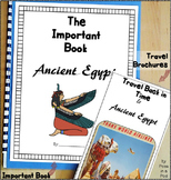 Egypt Ancient Civilizations Travel Brochure & Important Book