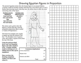 Egypt Art History Drawing Egyptian Style Figures