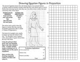 Egypt Art History Drawing Egyptian Style Figures