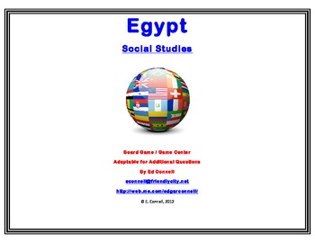Egypt Board Game