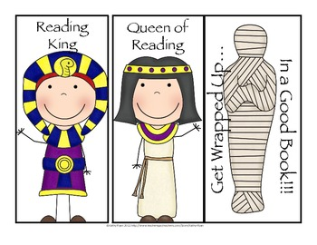 Egypt Bookmarks Freebie