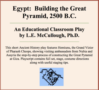 Egypt:  Building the Great Pyramid, 2500 B.C.