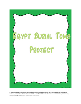 Egypt Burial Tomb Project