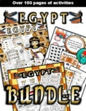 Egypt Classroom Center Activity Bundle