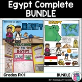 Egypt Complete Country Study for Early Readers - Egypt Country Bundle
