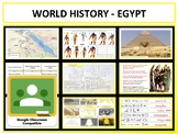 Ancient Egypt - Complete Unit - Google Classroom Compatible