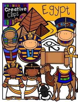 Egypt {Creative Clips Digital Clipart}