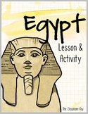 Egypt Lesson and Activity