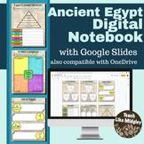 Egypt Digital Interactive Notebook Activities