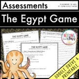 The Egypt Game: Tests, Quizzes, Assessments Distance Learning