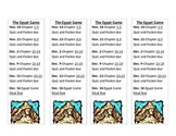 Egypt Game Bookmarks
